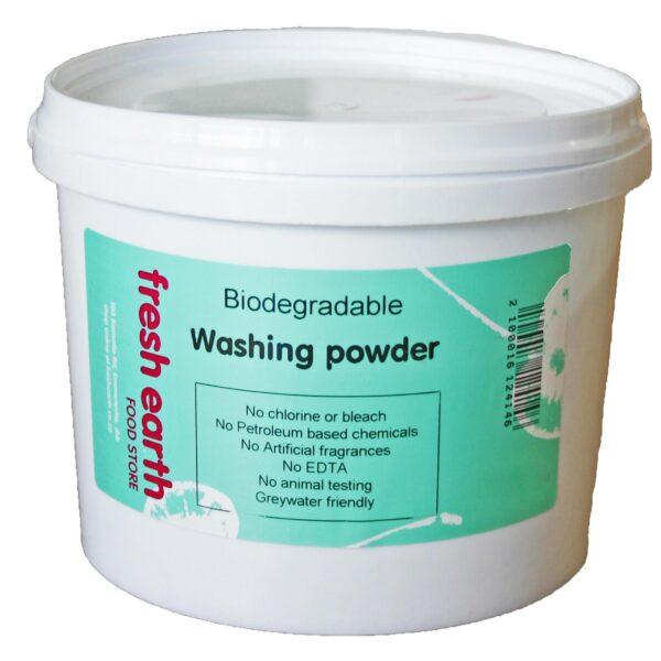 Fresh Earth Biodegradable Washing Powder - 2.5kg-0