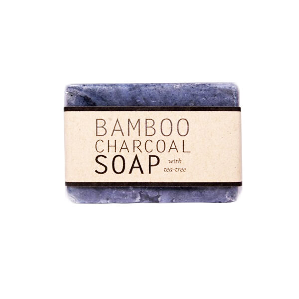 Kalyan Bamboo Charcoal Soap with Tea Tree - Each