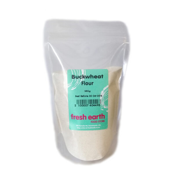 Fresh Earth Buckwheat Flour - 350g-0