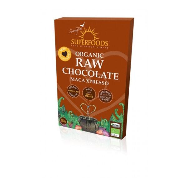 Soaring Free Raw Chocolate Maca Xpresso - 50g