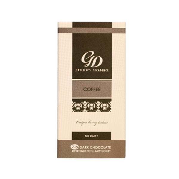 Gayleen's Decadence Coffee Slab 71% - 100g