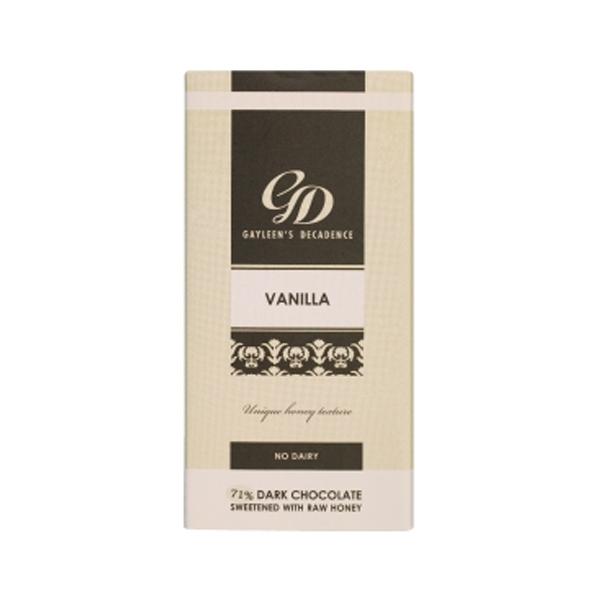 Gayleen's Decadence Vanilla Slab 71% - 100g