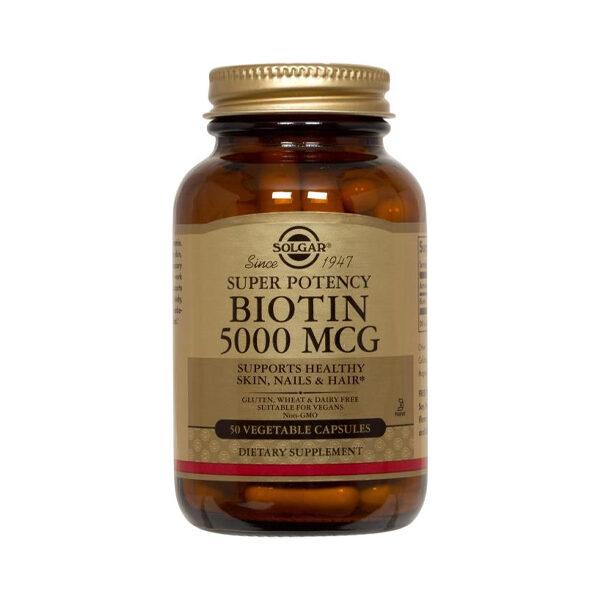 Solgar Biotin 5000ug - 50's