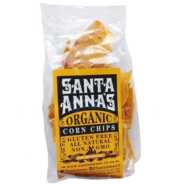 Santa Anna's Organic Corn Chips - 250g-0