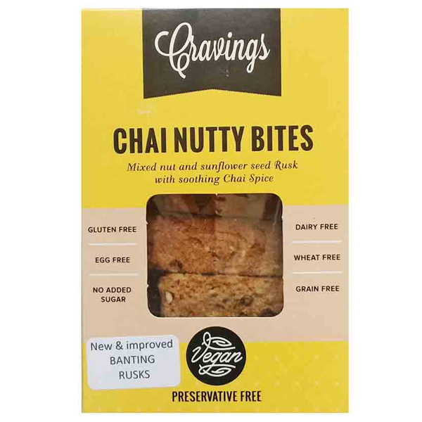 Cravings Chai Nutty Bites - 200g