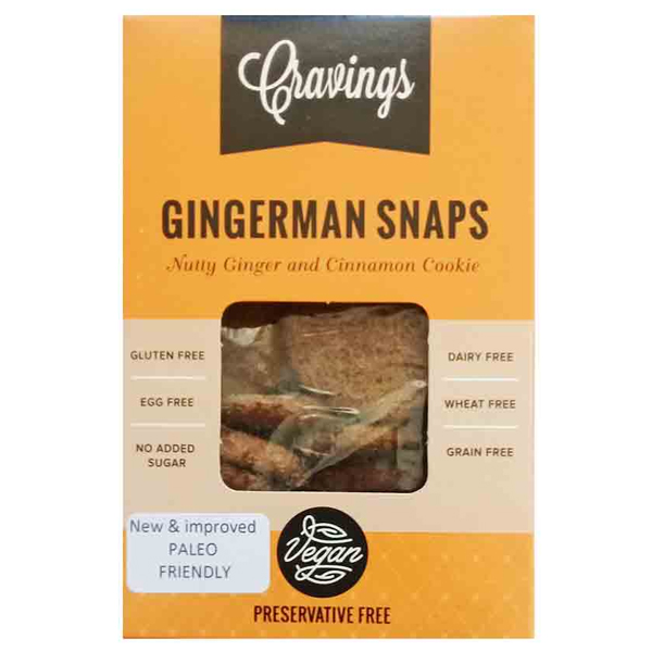 Cravings Ginger Snaps - 200g