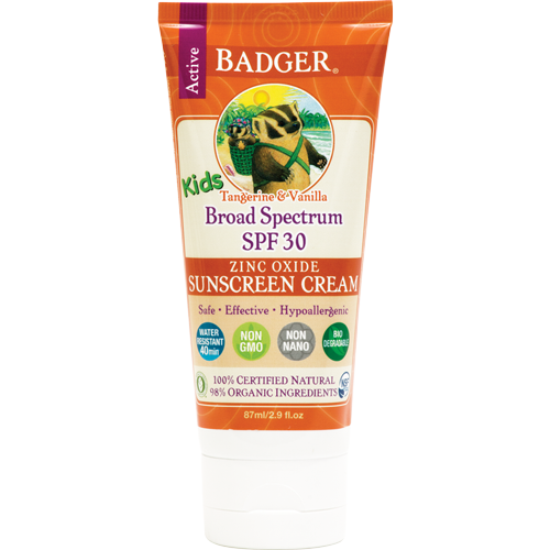 Badger Kids Sunscreen SPF 30 - 87ml-0
