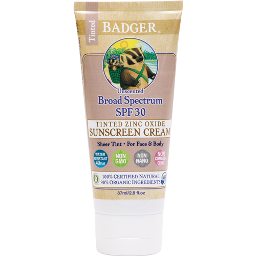 Badger SPF 30 Unscented Sunscreen - 87ml-0