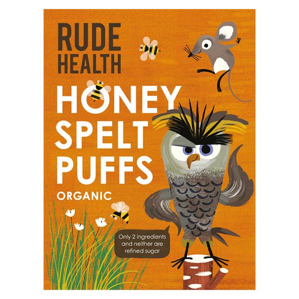 Rude Health Organic Spelt Puffs Cereal - 175g