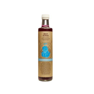 The Cultured Whey Beet Kvass - 500ml-0