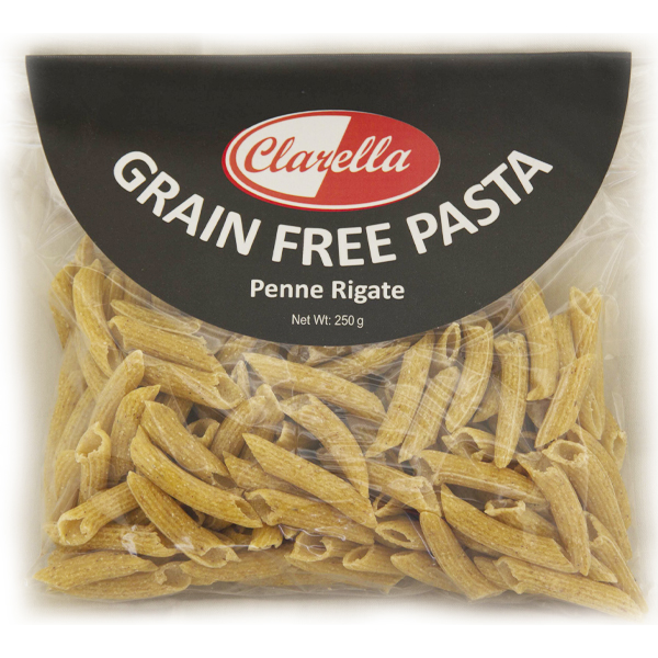 Clarella Grain Free Pasta Penne - 250g
