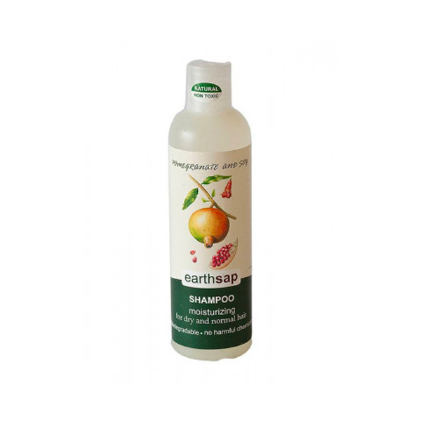 Earth Sap Shampoo Pomegranate and Soy - 250ml