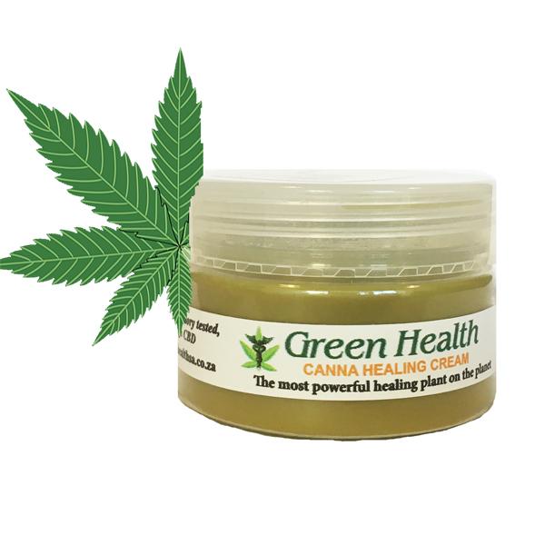 Green Health Cannabis Healing Cream - 100ml
