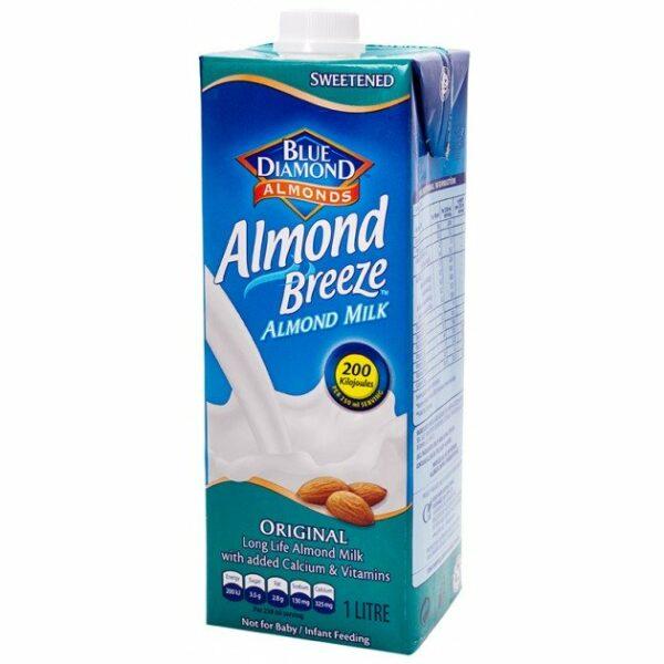 Blue Diamond Almond Breeze Almond Milk Original - 1L-0