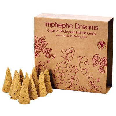 Imphepho Dreams Incense Cones - 10's-0