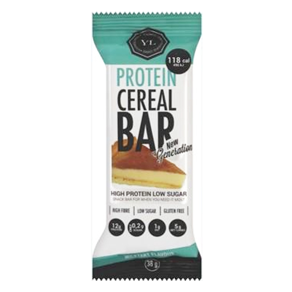 Youthful Living Protein Cereal Bar Milktart - 38g