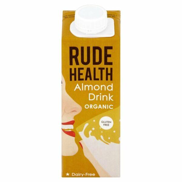 Rude Health Gluten Free Organic Almond Drink - 250ml-0