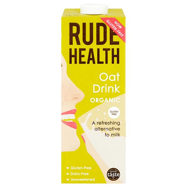 Rude Health Gluten Free Organic Oat Drink - 1L