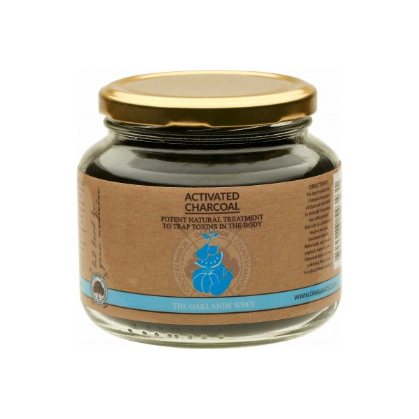 The Oaklands Whey Activated Charcoal - 100g
