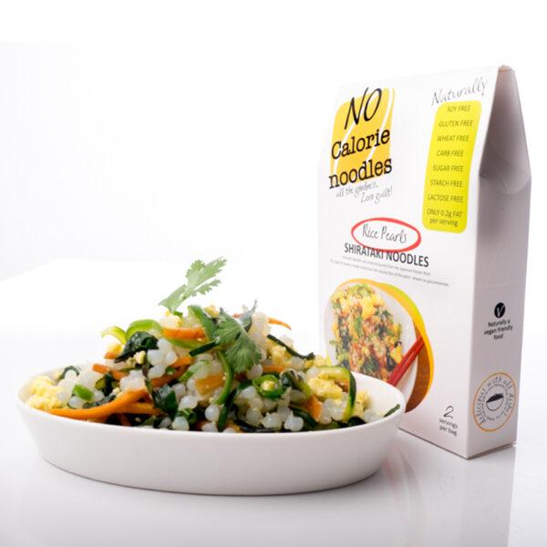 No Calorie Noodles Rice Pearls - 200g-0