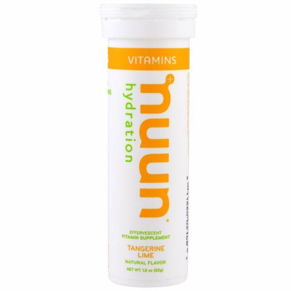Nuun Vitamin Tangerine Lime - 12's-0
