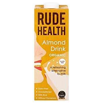 Rude Health Gluten Free Organic Almond Drink - 1L-0