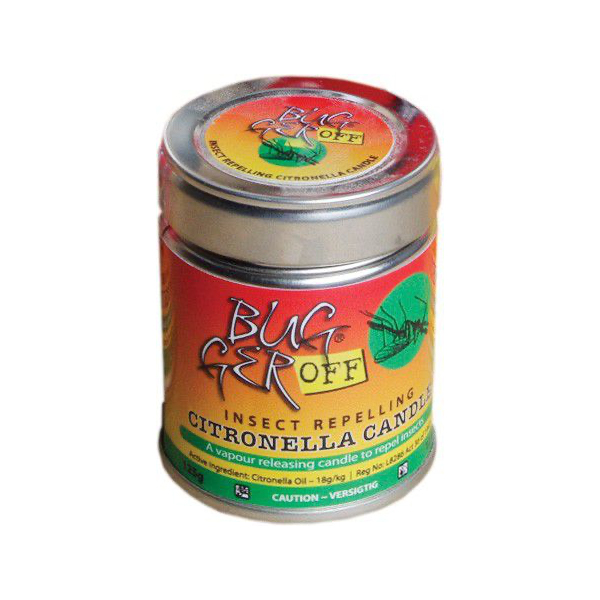 Bugger Off Citronella Candle - 125g
