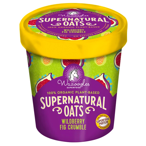 Wazoogles Supernatural Oats Wildberry Fig Crumble - 90g