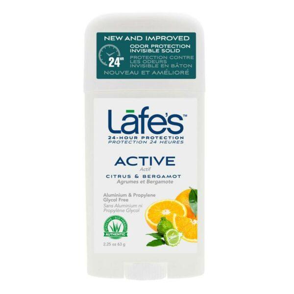 Lafes Deodorant Stick Citrus & Bergamot - 64g-0