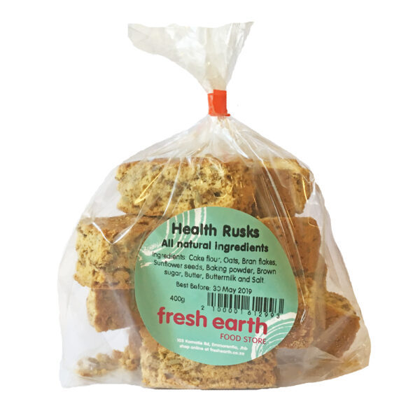 Fresh Earth Homemade Health Rusks - 400g-0