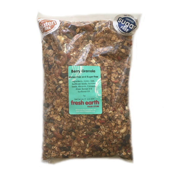 Fresh Earth Berry Granola - 1kg-0