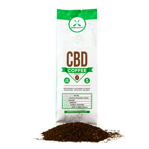 Green Roads CBD Coffee - 56g