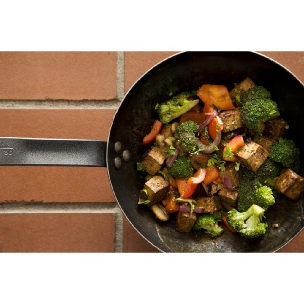 Green Tea and Tamarind-Marinated Tofu with Vegetables