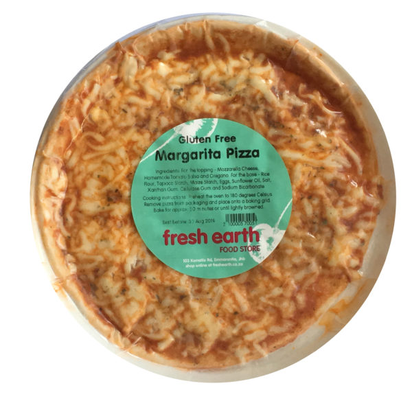 gluten free margarita pizza