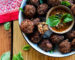 Aubergine Meatless Balls Fresh Earth Vegan